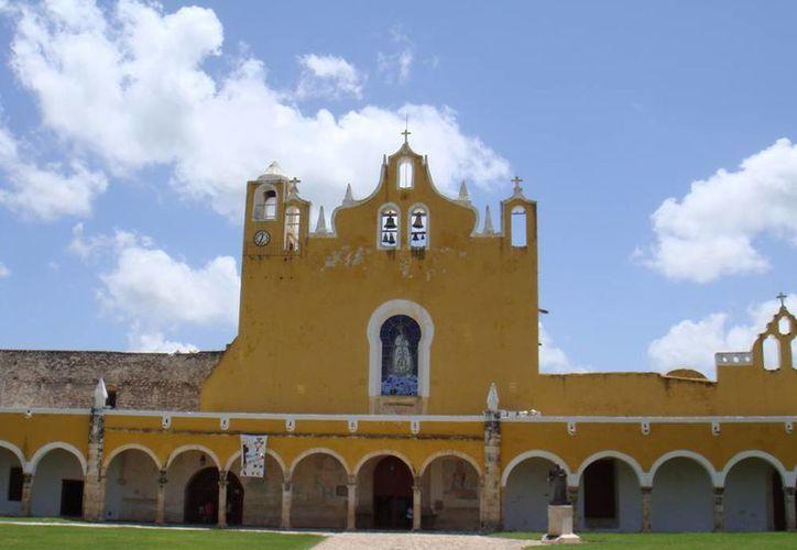 En el convento de Izamal se han efectuado eventos de gran importancia religiosa y hasta musicales. (SIPSE)
