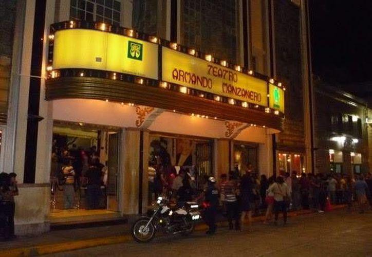 El Festival Mórbido se presenta en el teatro Armando Manzanero. (Milenio Novedades)