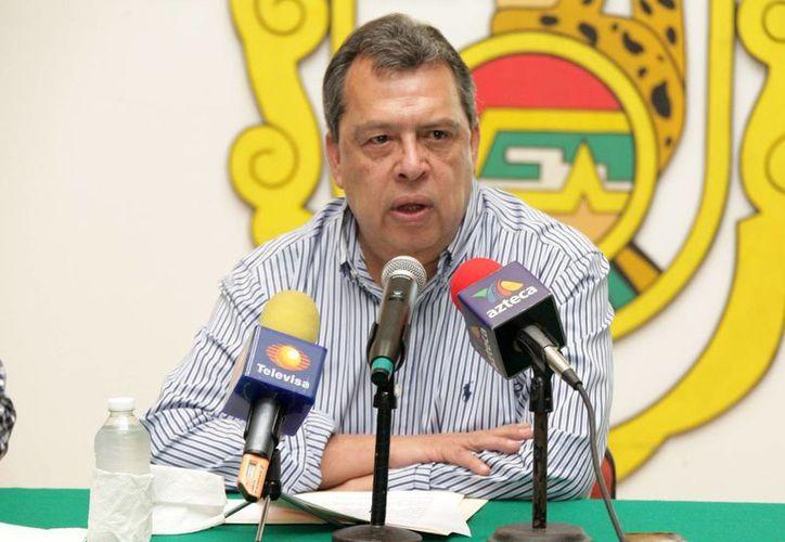 Apenas esta madrugada el Congreso de Guerrero aprobó la licencia de Ángel Aguirre para separarse del cargo de gobernador en ese estado. (Notimex)