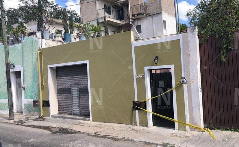 El predio que fue abierto por los delincuentes.  (Novedades Yucatán)