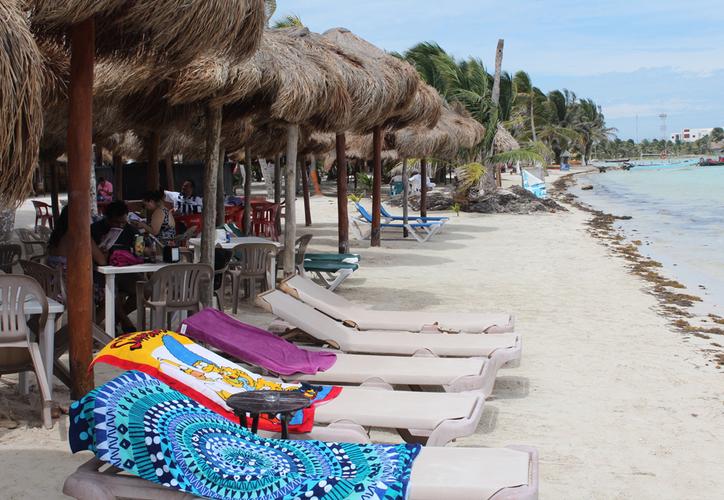 Cada uno de los negocios en la zona de playas daba empleo a alrededor de 16 personas, principalmente jefes de familia de las localidades de Mahahual, Xcalak, El Uvero, Xahuayxol y Río Indio. (Daniel Tejada/SIPSE)