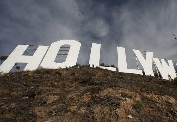 La famosa marquesina que da la bienvenida a 'La Meca' del cine. (EFE)