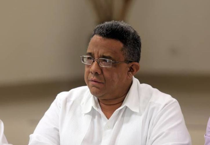 Mario Can Marín, titular de Canacintra, considera que uno de los puntos a seguir para mejorar la movilidad en Mérida es establecer áreas económicas de acuerdo a los giros comerciales. (Foto de archivo de SIPSE)