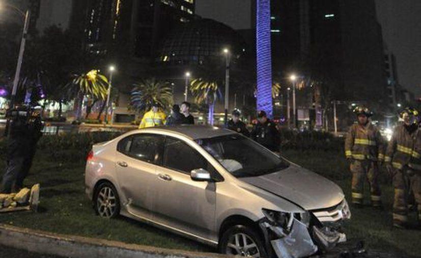Más de 11 mil personas resultaron involucradas en un accidente durante el 2016 en la Ciudad de México. (Milenio)