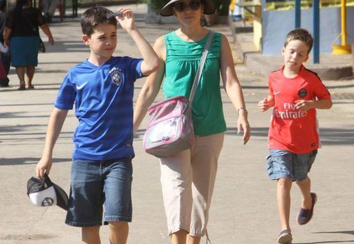 La temperatura máxima registrada en Mérida el sábado fue de 33 grados. (SIPSE)