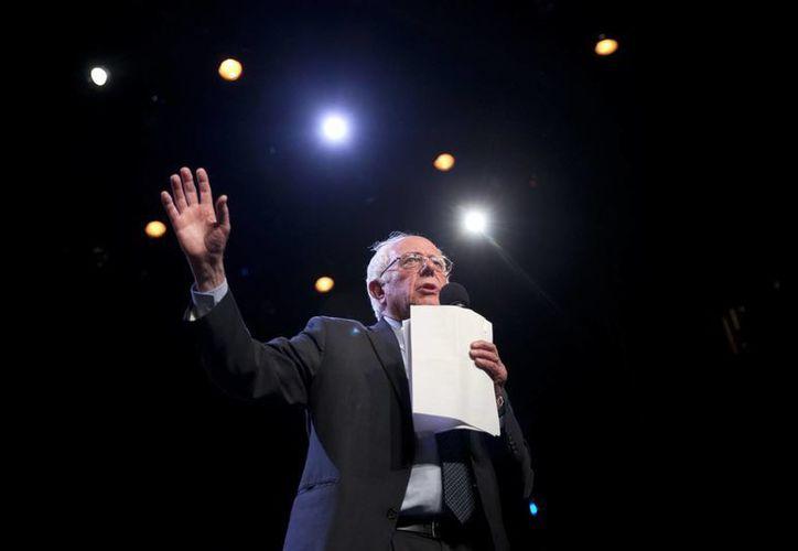 El senador por Vermont, Bernie Sanders, ganó a Hillary Clinton en los caucus (asambleas populares) del estado de Wyoming. (AP)