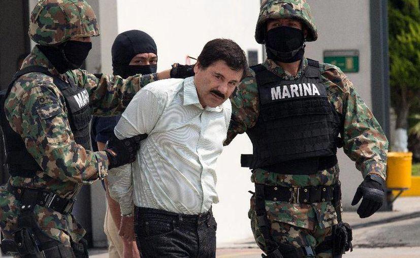 En México, 'El Chapo' Guzmán enfrenta diez procesos penales.  (Archivo/Agencias)