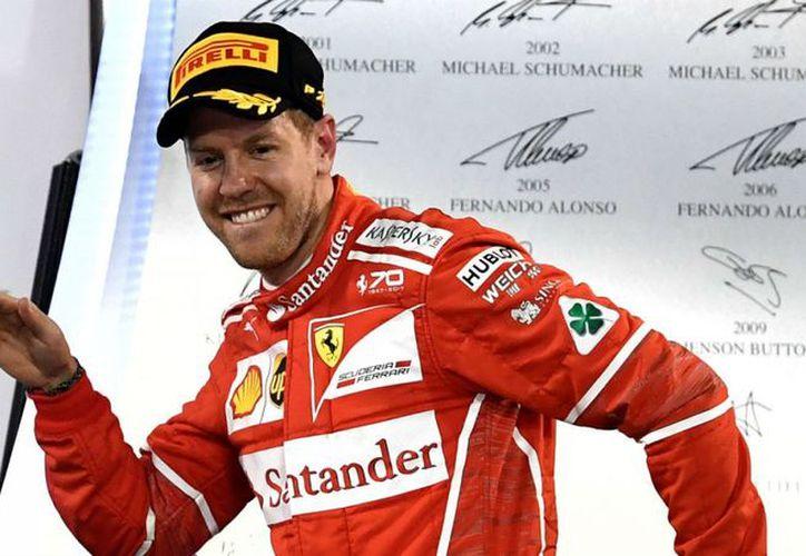 El alemán Sebastian Vettel (Ferrari) reforzó su liderato en el Mundial de Fórmula Uno. (Foto: Teletrece)