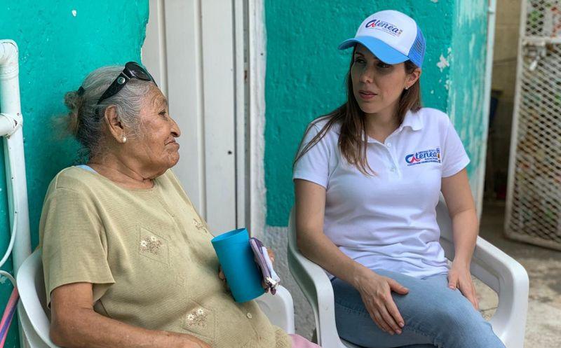 """La candidata de la coalición """"Orden y Desarrollo por Quintana Roo"""" enfatizó la importancia de dejar atrás diferencias políticas que sólo """"frenan el progreso"""". (Foto: Comunicado de Prensa)"""