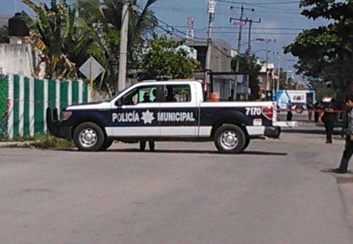Testigos afirman que escucharon varios disparos en la zona. (Gustavo Villegas/ SIPSE)