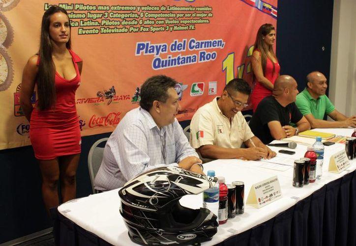 En conferencia de prensa se dijo que ya están confirmados participantes de países como Argentina, Perú, Venezuela, Colombia y Brasil, principalmente. (Adrián Barreto/SIPSE)