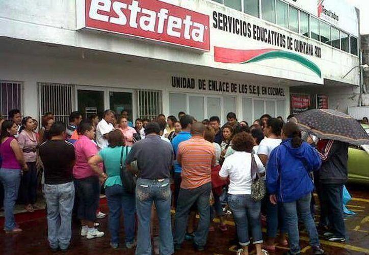 La duración de la manifestación será de dos horas, según informó el vocero del comité en Cozumel, Armando Pérez León. (Archivo/SIPSE)