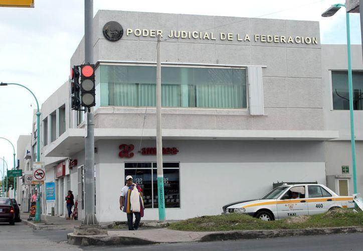García Achach promovió un juicio de amparo en contra de Fernando León Chávez, Juez de Control de Primera Instancia. (Joel Zamora/SIPSE)