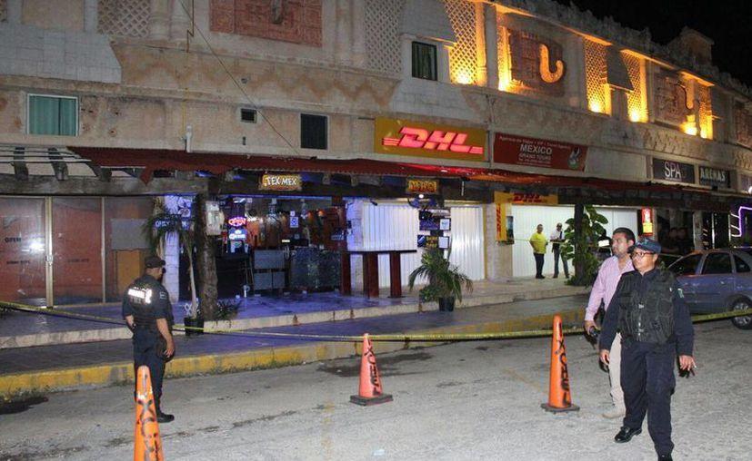 Los disparos se registraron en el kilómetro 8.5 de la zona turística. (Redacción)