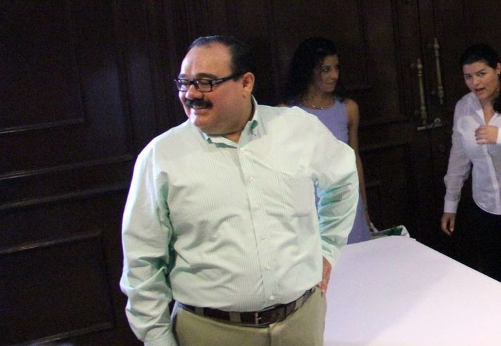 Jorge Carlos Ramírez Marín, titular de la Sedatu, dijo que para este 2014, la federación espera otorgar 80 millones de pesos de inversión en vivienda. (Milenio Novedades)