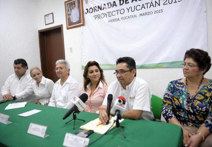 Diversos organismos locales e internacionales participan en la campaña Proyecto Yucatán 2015. (Milenio Novedades)