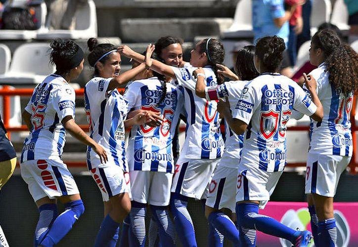 El conjunto hidalguense fue amplio dominador del primer partido de la Liga. (Foto: Medio Tiempo)