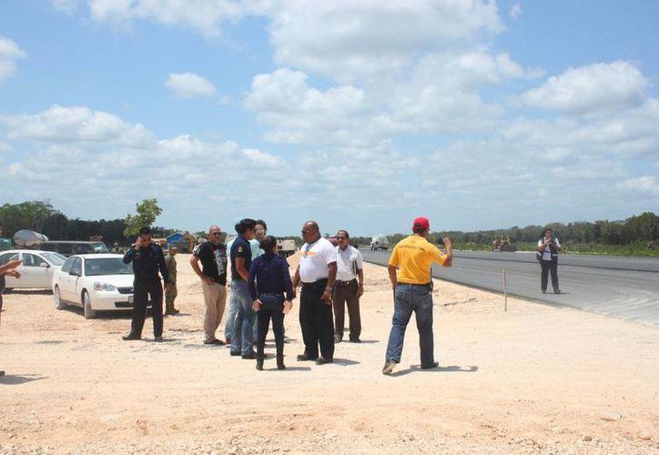 La nueva aeropista de Playa del Carmen se encuentra a 11 kilómetros de Puerto Aventuras. (Daniel Pacheco/SIPSE)
