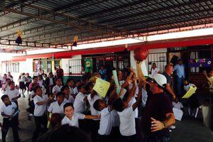 Dona la empresa Gordon Food Services más de 60 mil pesos a escuela