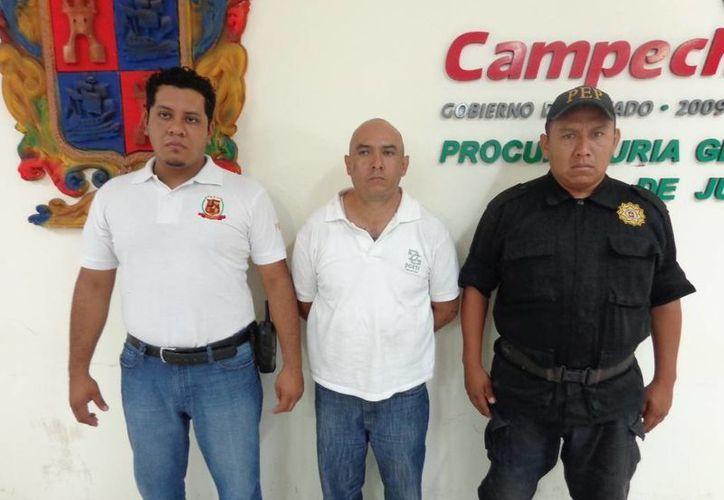 Hernández Ortiz tenía tres días en la capital campechana. (Cortesía)