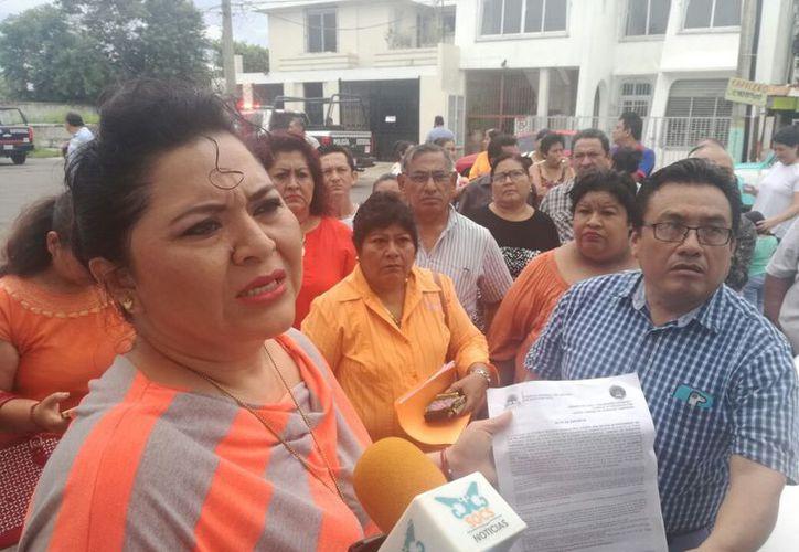 La aspirante a la Secretaría General, Rosmely Cel Pérez, acudirá a la Junta Local de Conciliación y Arbitraje a presentar la impugnación. (Joel Zamora/SIPSE)