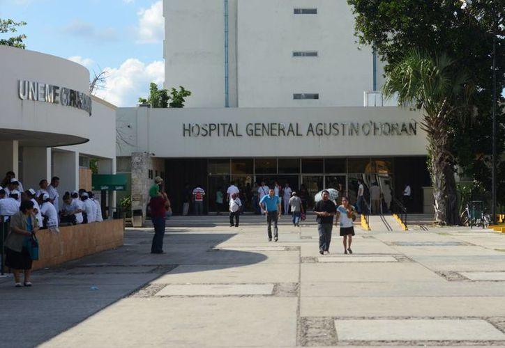 """El Hospital General """"Dr. Agustín O' Horán"""" de Mérida atiende a la mitad de los casos de cáncer infantil que se registran anualmente en Yucatán. (Milenio Novedades)"""