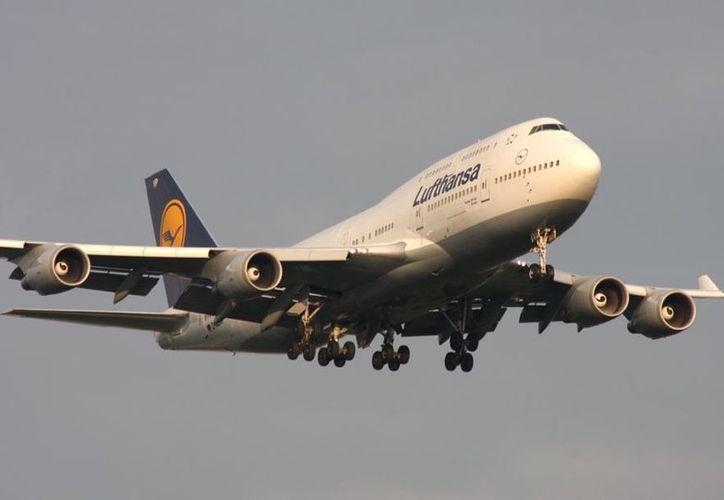El avión de Lufthansa viajaba desde el aeropuerto de Newark de Nueva a Frankfurt. (widebodyaircraft.nl)