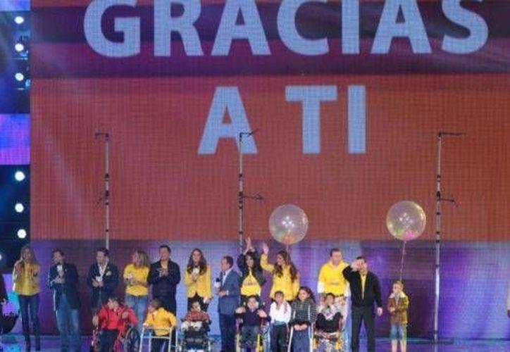 Con el hashtag #genteextraordinaria el evento tuvo amplio apoyo en redes sociales. (televisa.com)