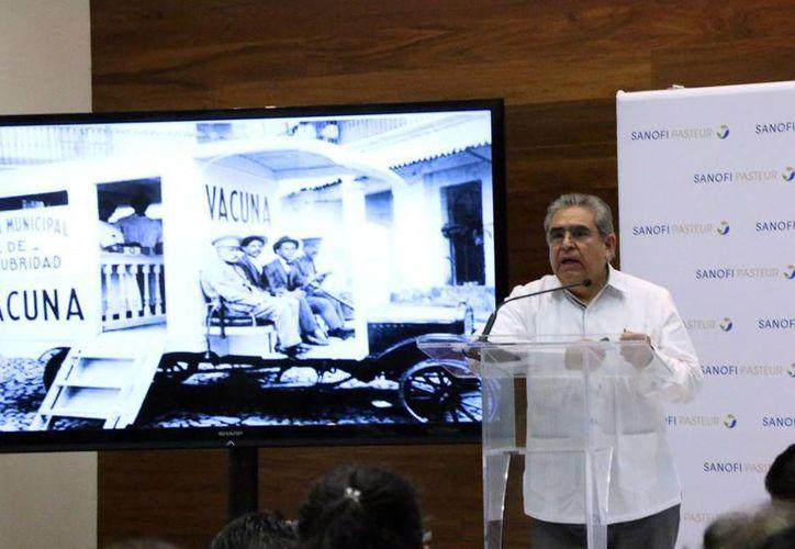 José Luis Arredondo, director de investigación clínica del Instituto Nacional de Pediatría. (Milenio Novedaes)