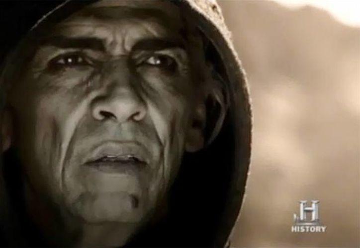 El actor marroquí Mohamen Mehdi Ouazanni, interpreta a Satanás en la película  Son of God. (Captura de pantalla)