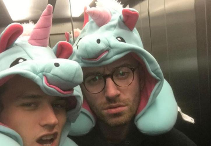 Sam Smith y Brandon Flynn comenzaron a salir durante octubre. (Instagram)