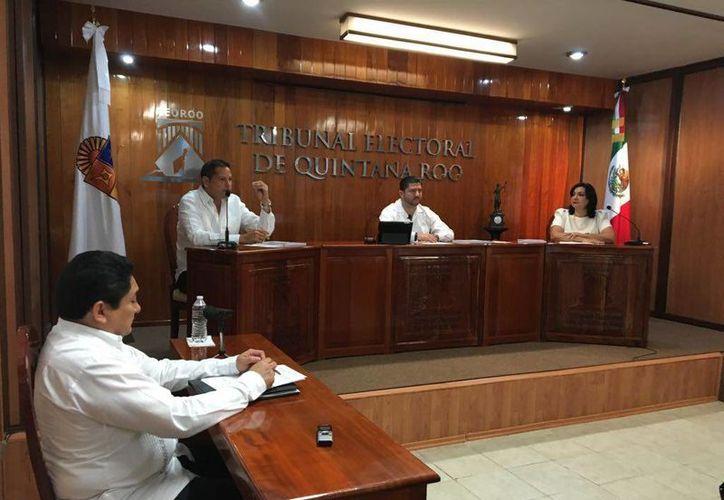 Los juicios fueron presididos por los magistrados Víctor Vivas, Nora Cerón y Vicente Aguilar.(Ángel Castilla/SIPSE)