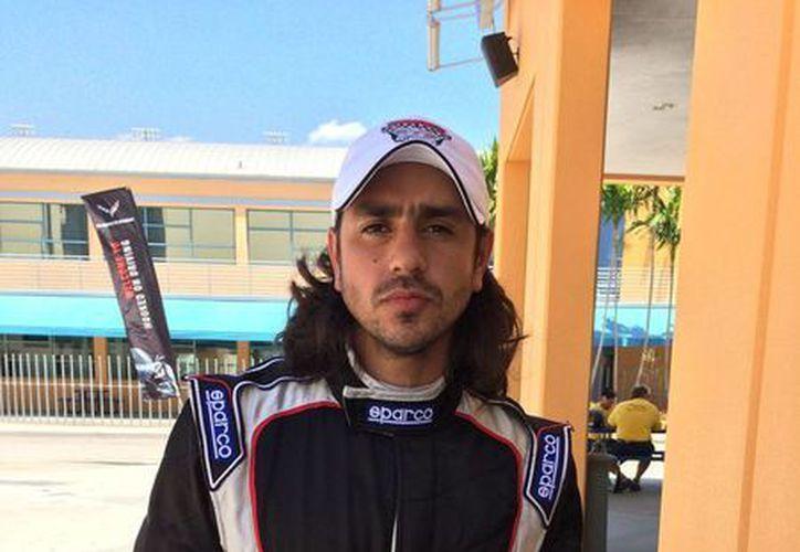 Este domingo, el yucateco Gerardo García Macari correrá como en su casa, en Miami, en donde deja huella en la pista del automovilismo. (panamgp.com)