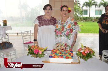 Festeja su cumpleaños Maribel Zapata