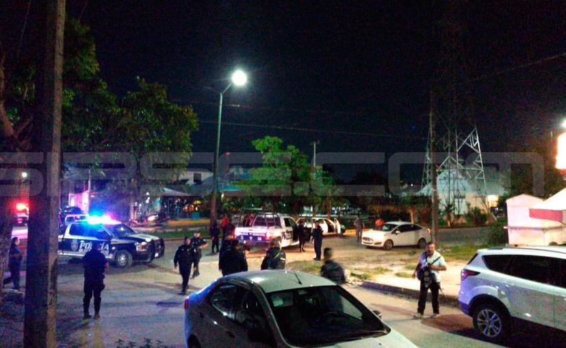 El ataque ocurrió en un domicilio de la calle 132 de la Región 236. (Redacción/SIPSE)