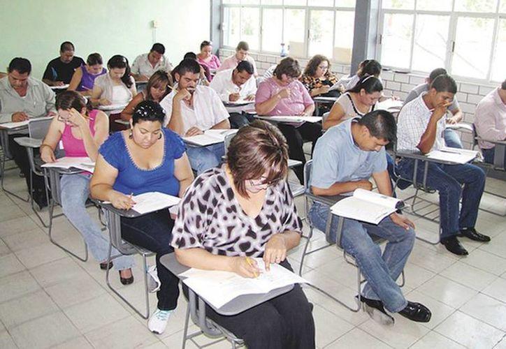 Los maestros presentaron examen de Oposición hace dos semanas en todo el Estado. (Foto de contexto tomado de elmanana.com.mx)