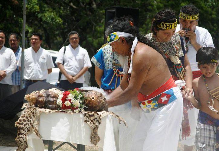 Este fin de semana se realizará una ceremonia maya para recibir el invierno. (Octavio Martínez/SIPSE)