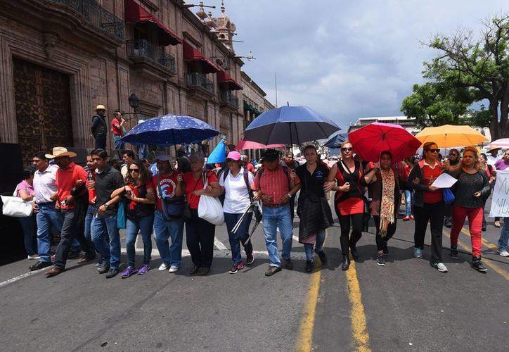 Otro maestro, integrante de la Sección 22 de Oaxaca, ya está libre. (Imagen de contexto/oaxaca.me)