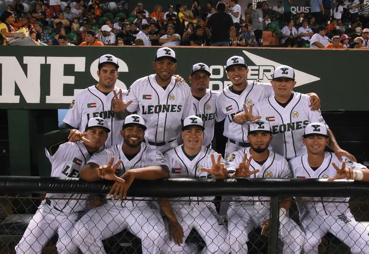 Buen arranque de temporada han tenido los Leones, que están de punteros en la Zona Sur de la Liga Mexicana. (Foto: Milenio Novedades)