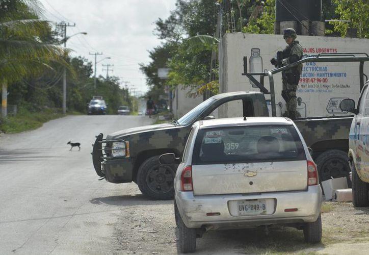 Implementan varios operativos ante el incremento de la delincuencia. (Karin Moisés/SIPSE)