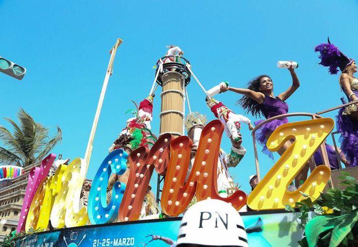 El Carnaval de Veracruz espera recibir hasta un millón de visitantes. (Notimex)