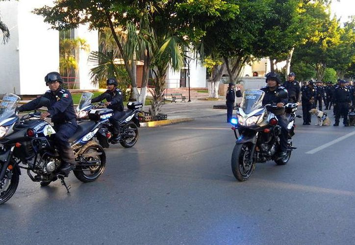 La vigilancia policiaca se centrará en las zonas donde confluye gran cantidad de gente. (Foto: Milenio Novedades)