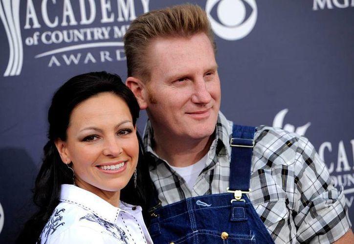 La cantante Joey Feek, del dueto de música country Joey + Rory, falleció este viernes, a los 40 años de edad. (AP/Archivo)