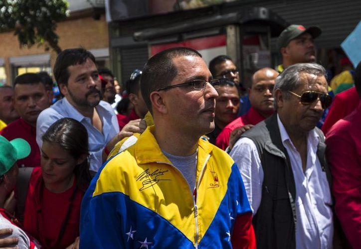 El vicepresidente venezolano, Jorge Arreaza, asistió este martes a los actos de investidura del presidente panameño. (Archivo/EFE)