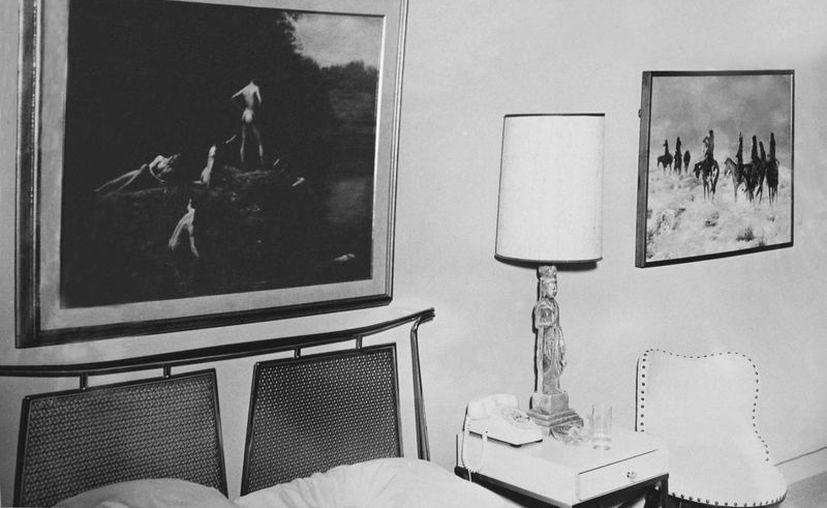 Aspecto de la suite en la que se hospedó Kennedy antes de morir. (EFE)