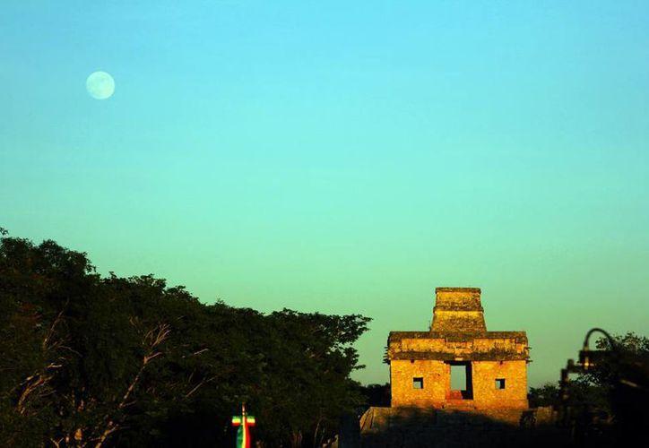 Ofrecen a trabajadores de la CROC diferentes paquetes de entretenimiento para visitar diversos lugares de Yucatán, como Dzibichaltún. (Milenio Novedades
