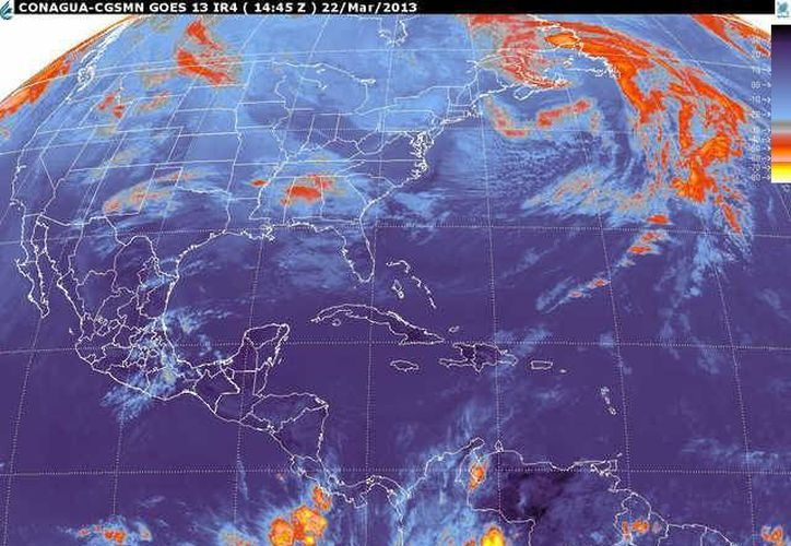 Soplarán vientos del este y sureste de 20 a 40 km/h con rachas de 55 km/h y oleaje de 1 metro de altura. (smn.cna.gob.mx)