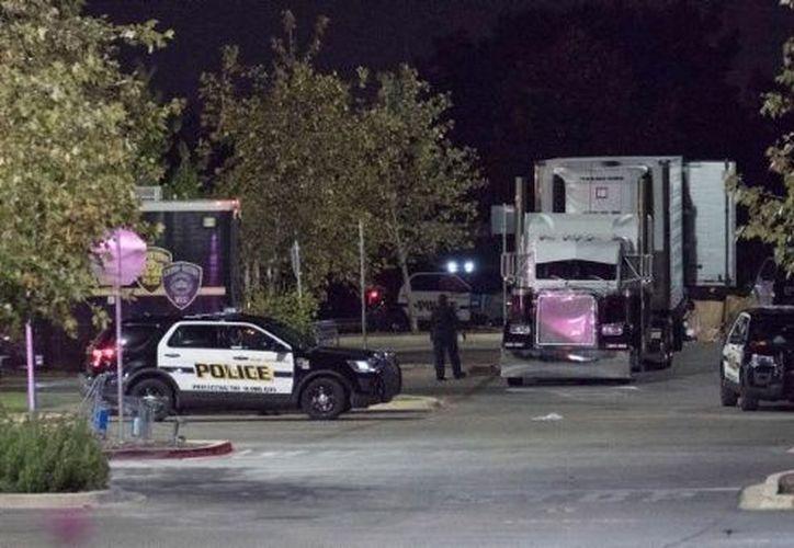 El incidente es el más grave registrado en Texas relacionado con el tráfico de indocumentados desde mayo de 2003. (Gob.mx)