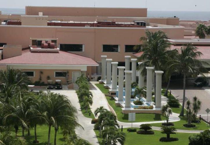 Las dimensiones del centro de exhibiciones del hotel Moon Palace pasarán de 11 mil a 22 mil metros cuadrados. (Archivo/SIPSE)