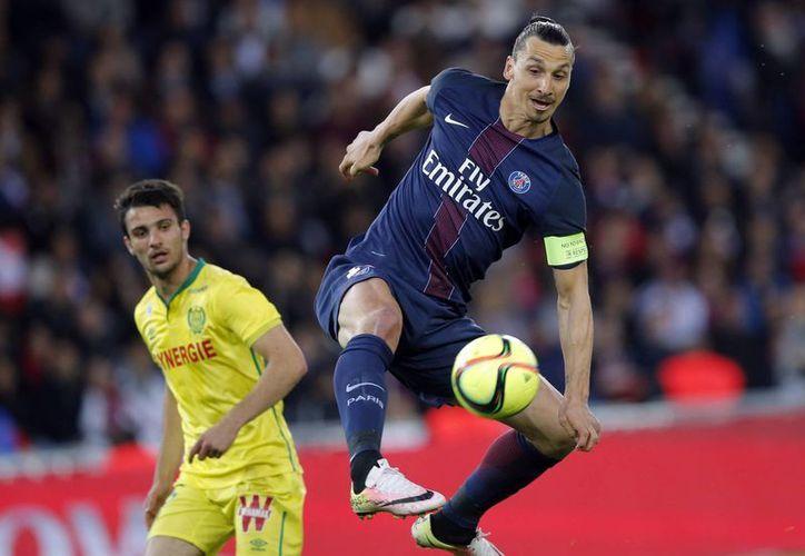 Polémico y ganador ante todo, Zlatan Ibrahimovic se despidió del PSG con unas frases que lo encasillan tanto en actitud como en sus glorias futbolísticas: 'Vine, vi y vencí'. (AP)
